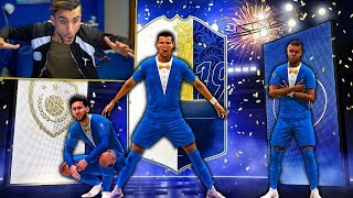 😱 ICON PRIME in a PACK con RONALDO 99, MESSI 99 e MBAPPE 97! TOTY PACK OPENING FIFA 19 [ITA]