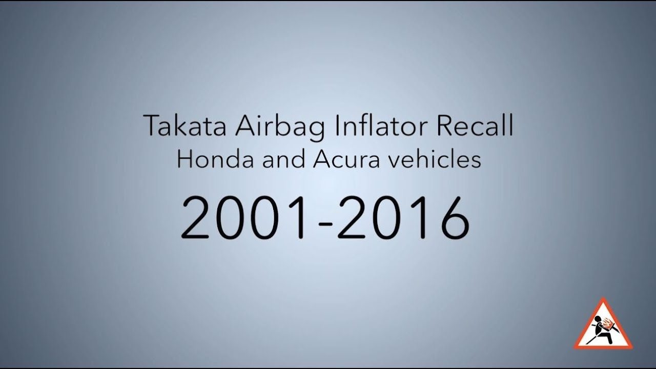 Honda Airbag Info Recall