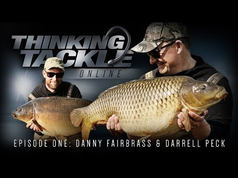 Korda Thinking Tackle Online Episode 1: Danny Fairbrass & Darrell Peck | Carp Fishing 2018