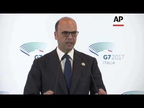Italy FM:no G7 consensus on Russia sanctions