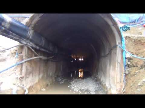 Çelikhan Çat Barajında Tünel Çalışmaları Devam Ediyor