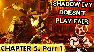 Shadow Fight 3. Defeating Marauder and Rogue Deserter. Chapter 5 Gameplay and Playthrough.