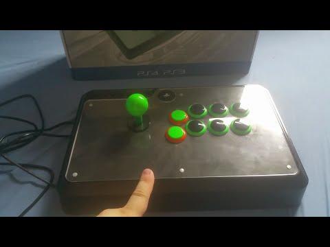 VENOM PS4 / PS3 ARCADE STICK SANWA MOD - YouTube