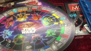 Unboxing monopoly star wars edition