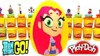 Teen Titans Go Starfire Sürpriz Yumurta Oyun Hamuru - LPS Cicibiciler MLP Paw Patrol