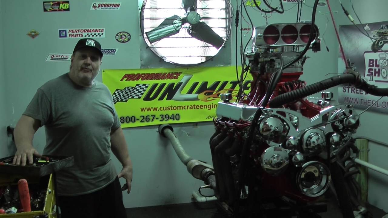 Fuel Injected 460 BBF Stroker Crate Engine With a Weiand Tunnel