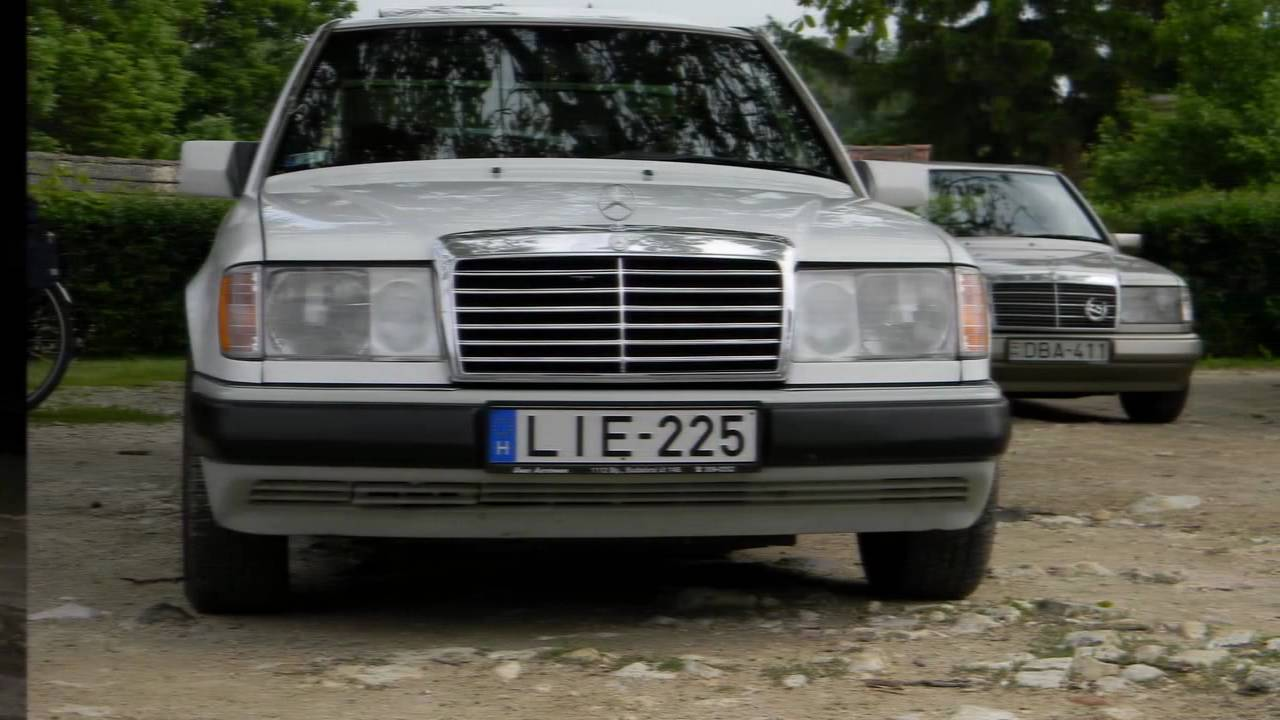 My own mercedes benz w124 styling by summer w124 music by for Who owns mercedes benz now
