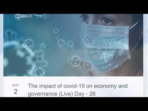 Corona Virus - Voice of Community (Live) Day - 10