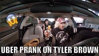 Tyler Brown Uber Prank