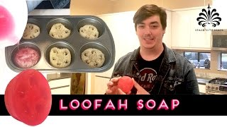 Loofah Soap Scrubbies | Melt & Pour | SPACE CITY SOAPS