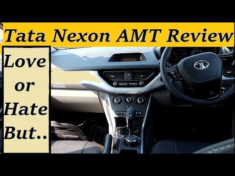 Tata Nexon AMT Automatic 2019 Review. Nexon XMA or XZA Diesel with Positives, Negatives