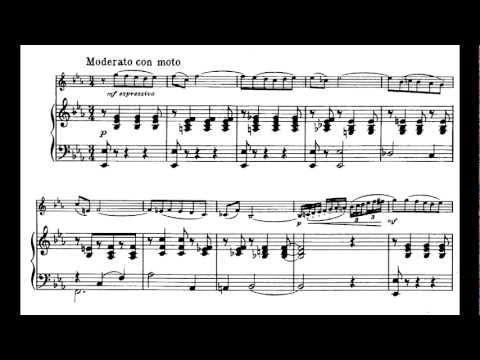 (Hassid) Tchaikovsky: Mélodie from Souvenir d'un lieu cher.