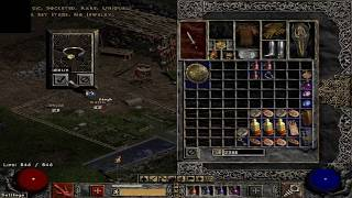 Diablo 2 - PoD - Awesome imbuing! 2nd day of ladder