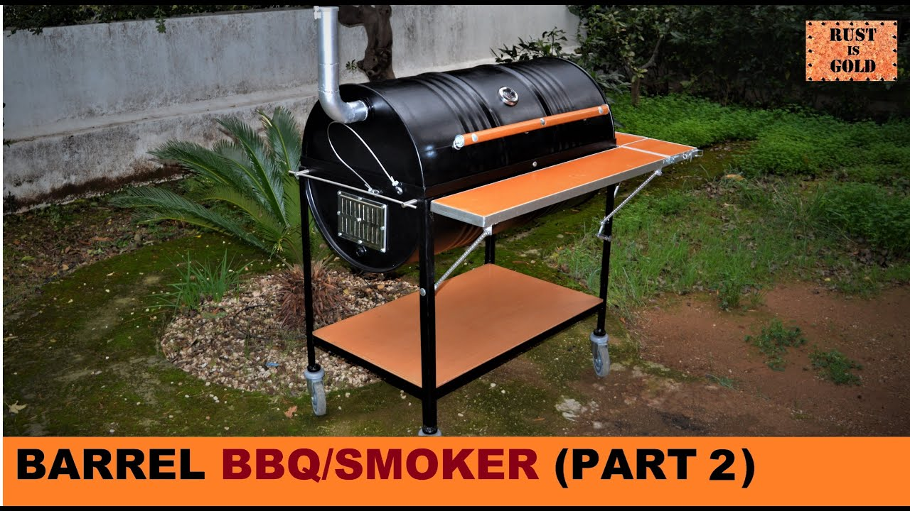 HOW TO BUILD A BARREL BBQ/SMOKER (PART