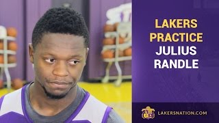 Julius Randle Learning From Matchups, Film Sessions