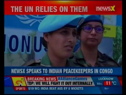 NewsX World Exclusive: Strategic Affairs Editor Ashish Singh speaks to Indian peacemakers in Congo