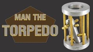 Solution for Man the Torpedo from Puzzle Master Metal Puzzles