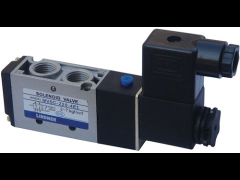 How pneumatic solenoid valve  Works