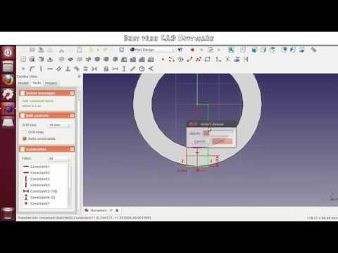 NEW Best Free Cad Software 2016 Tutorial with Download YouTube