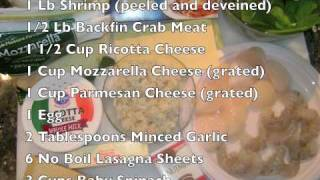 D'smith's Seafood Lasagna