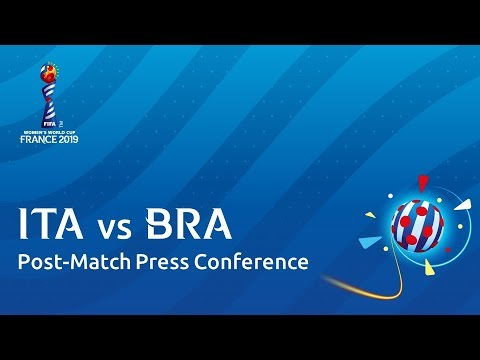 ITA v. BRA - Post-Match Press Conference