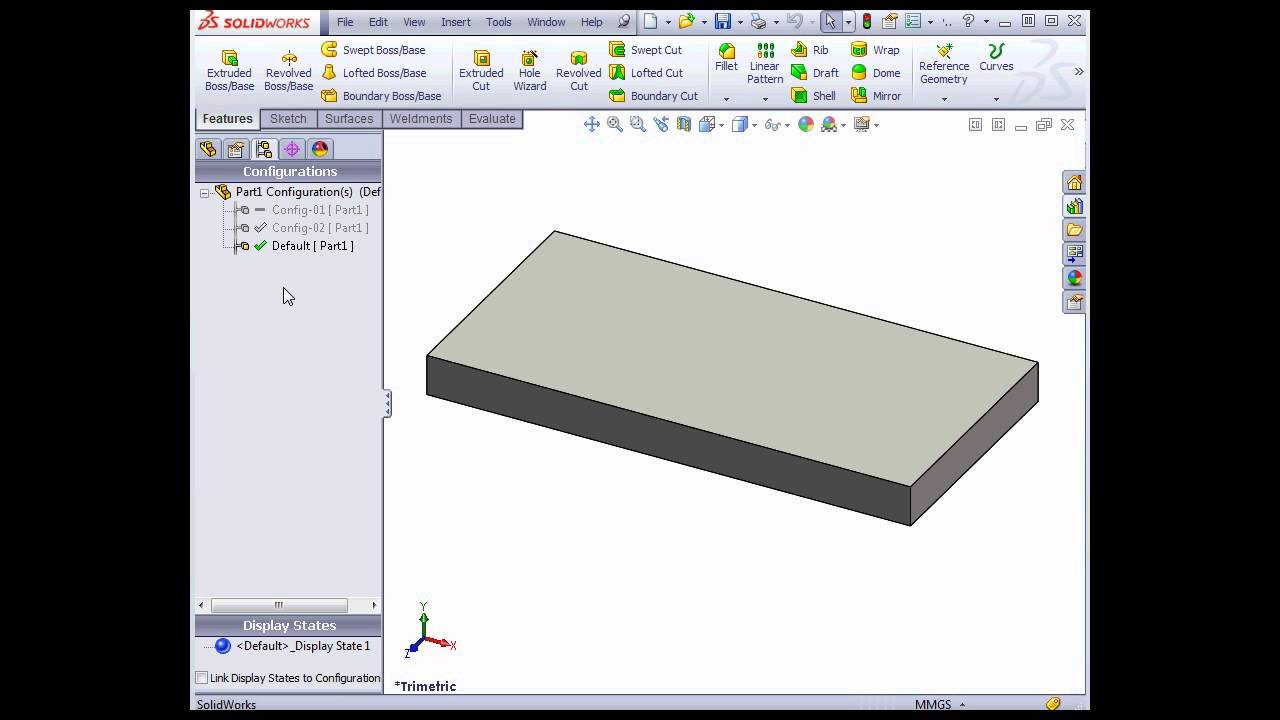 Solidworks 2013 video tutorials configurations youtube solidworks 2013 video tutorials configurations ccuart Gallery