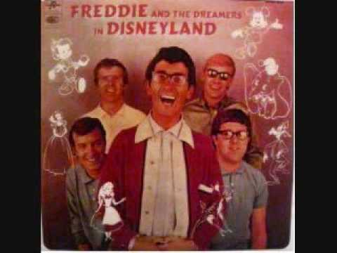 the unbirthday song-FREDDIE AND THE DREAMERS in disneyland