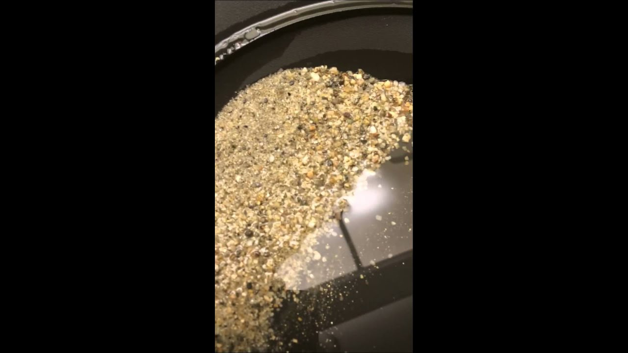 Removing very fine gold flakes from river sand ? Need a answer