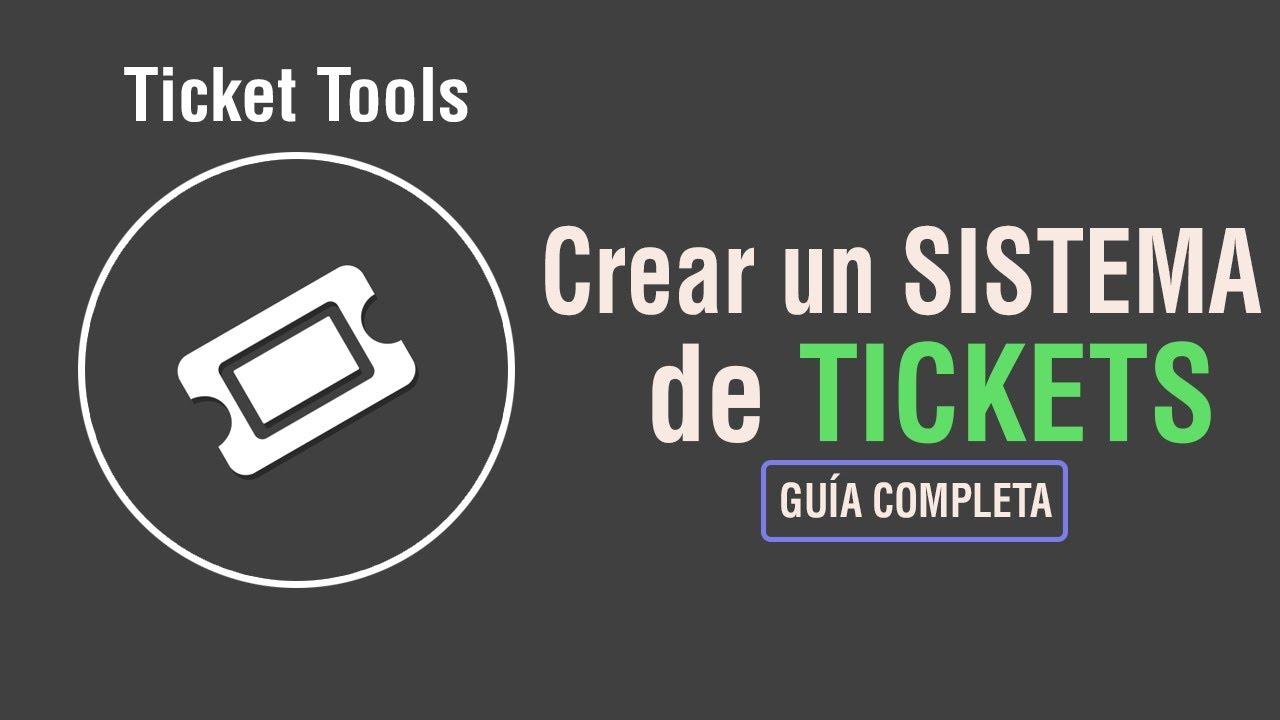 Cómo HACER un SISTEMA DE TICKETS en DISCORD | Ticket Tool | Guía completa