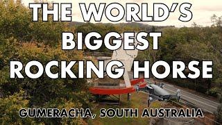 The Big Rocking Horse  Biggest In The World  - Gumeracha, South Australia