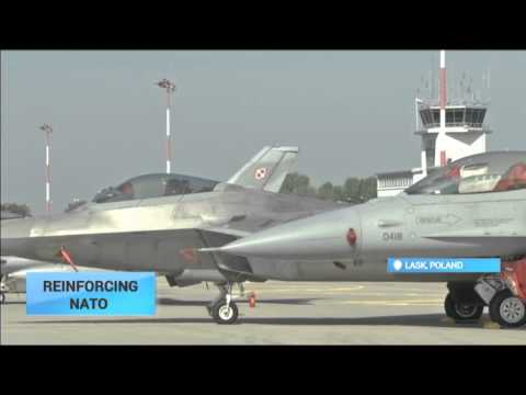 NATO Strength Boost: Four advanced US fighter jets arrive in Poland