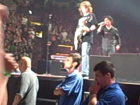 Green Day Boston TD Banknorth- me playing Jesus of suburbia