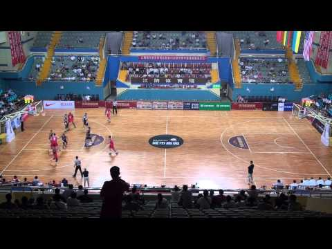 2014 USA All-Stars vs. Lithuania in China (Q4)