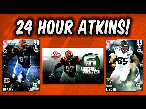 MUT 16 - 24 Hour Geno Atkins! Pack Opening for Football Outsiders in Madden 16 Ultimate Team