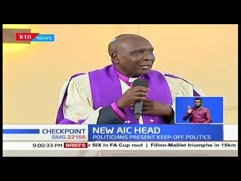 Politicians grace installation of new AIC head