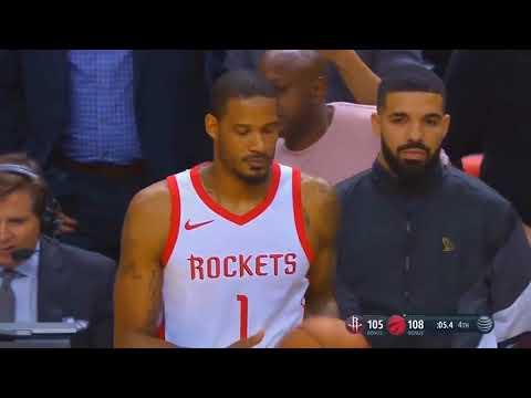 Drake Trash Talks Trevor Ariza & Raptors End Rockets Win Streak! REACTION