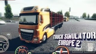 ***TRUCK SIMULATOR EUROPE 2***THE BEST GRAPHICS GAME***IN 50 MB***100000000% REAL