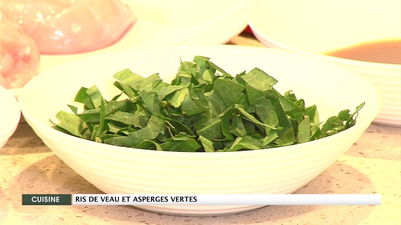 Ris de veau et asperges vertes – Supermarchés Match