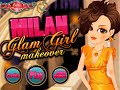 Milan Glam Girl Makeover- Fun Online Fashion Makeover Games for Girls Teens
