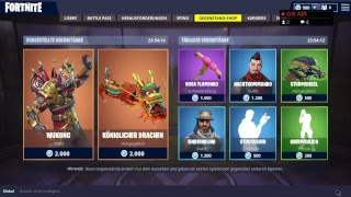 Fortnite item shop 24.04