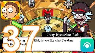 Pocket Mortys - Gameplay Walkthrough Part 37 - Crazy Mysterious Rick, Ending (iOS, Android)