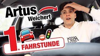 1. Fahrstunde mit Artus Weichert und das passiert 🤯 | Fischer Academy