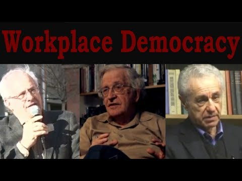 Workplace Democracy (with Wolff, Chomsky & Alperovitz)