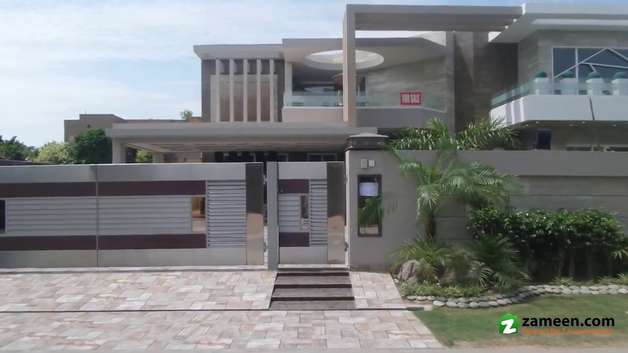 2 Kanal Bungalow For Sale In Phase 2 Dha Lahore Youtube