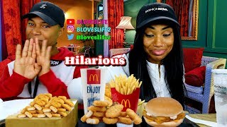 McDonalds Mukbang with Darius
