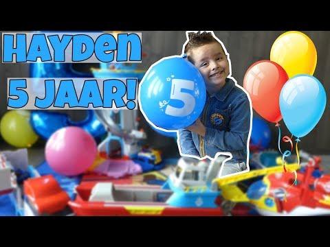 HOERA! HAYDEN 5 JAAR !! - Broer en Zus TV VLOG #144