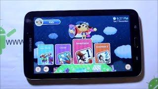 Galaxy Tab 3 7in Kids Rom install