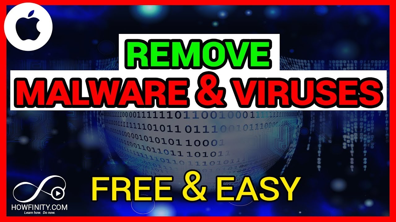 How To Remove Malware and Viruses From Your Mac-EASY & FREE