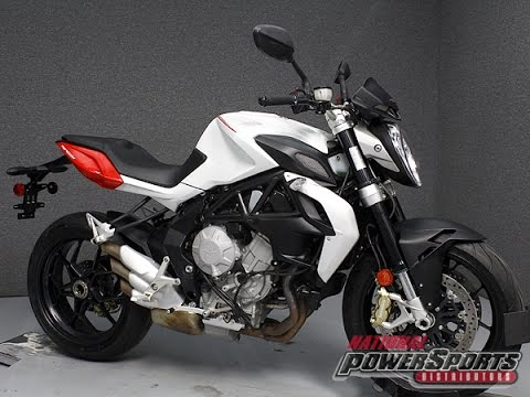 2014 MV AGUSTA BRUTALE 800 EAS - National Powersports Distributors ...