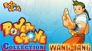 Power Stone Collection PSP Playthrough - POWER STONE 1 STORY MODE with WANG-TANG